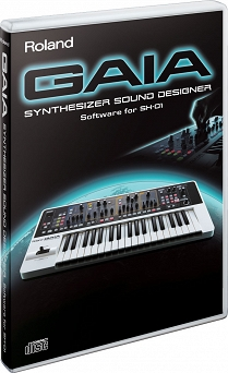Roland Roland GAIA SD SH-01 SYNTHESIZER SOUND DESIGNER