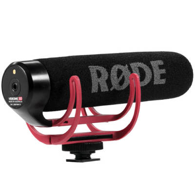 RODE VideoMic GO - Mikrofon do kamery