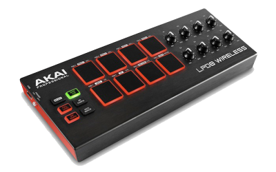 AKAI LPD8 WIRELESS - Mini kontroler