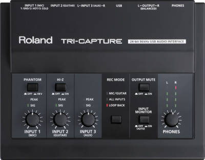 Roland UA-33 TRI-CAPTURE Interfejs audio USB