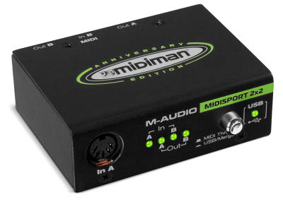 M-Audio MIDISPORT 2x2 INTERFEJS MIDI USB