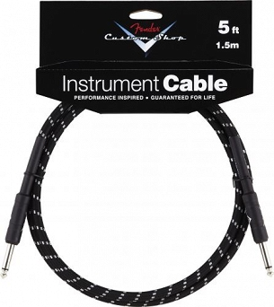 Kabel Fender® Custom Shop Performance Series Cable, 5', Black