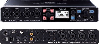 OCTA-CAPTURE 10 x 10 24-bit/192 kHz Hi-SPEED USB Audio Interface UA-1010