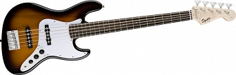 Squier Affinity Jazz Bass® Rosewood Fingerboard, Brown Sunburst
