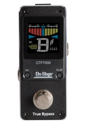 ON STAGE GTP7000 MINI PEDAL TUNER