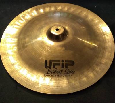 UFIP CYMBALS BI-18'' CHINA BRILLIANT SERIES