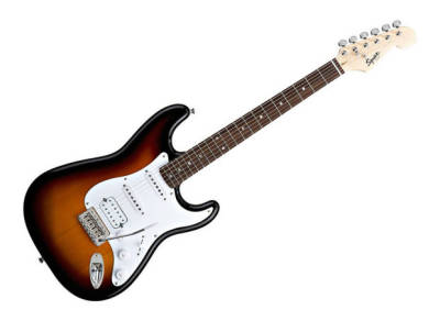 Squier Bullet® Stratocaster® with Tremolo HSS, Rosewood Fingerboard, Brown Sunburst