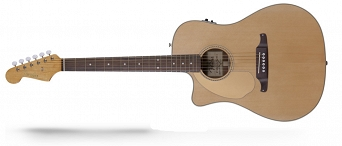Fender Sonoran™ SCE, Cutaway, Solid Spruce Top, Fishman®, Natural