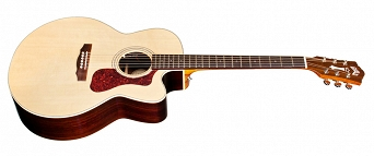 GUILD F-150CE JUMBO ACOUSTIC GUITAR, NATURAL