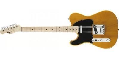 Squier Affinity Telecaster® Left Handed, Maple Fingerboard, Butterscotch Blonde