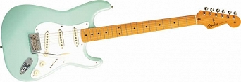 Fender Classic Series '50s Stratocaster® Maple Fingerboard, Surf Green