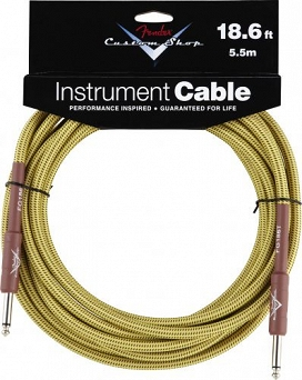 Kabel Fender Fender® Custom Shop Performance Series Cable, 18.6', Tweed