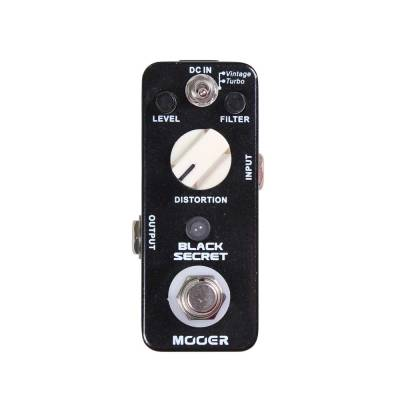 MOOER Black Secret Distortion MDS1