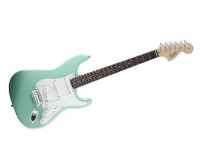 Squier Affinity Stratocaster® Rosewood Fingerboard, Surf Green