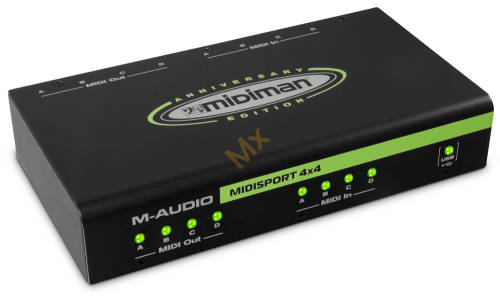 M-Audio MIDISPORT 4x4 INTERFEJS MIDI USB