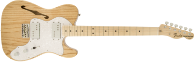 Fender Classic Series '72 Telecaster® Thinline, Maple Fingerboard, Natural