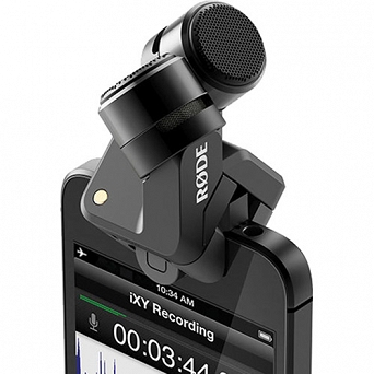 RODE iXY Lightning - Mikrofon stereo do iPhone 5/ iPad Light