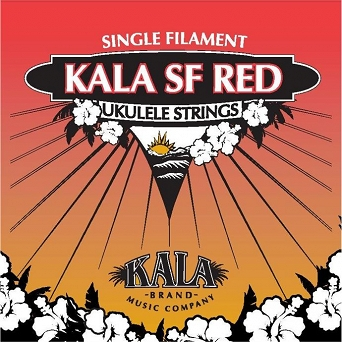 Kala SF Red KRSF-TAN nylonowe struny do ukulele tenorowego