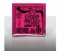 ERNIE BALL EB 2623 seria NICKEL WOUND SLINKY 7 STRING